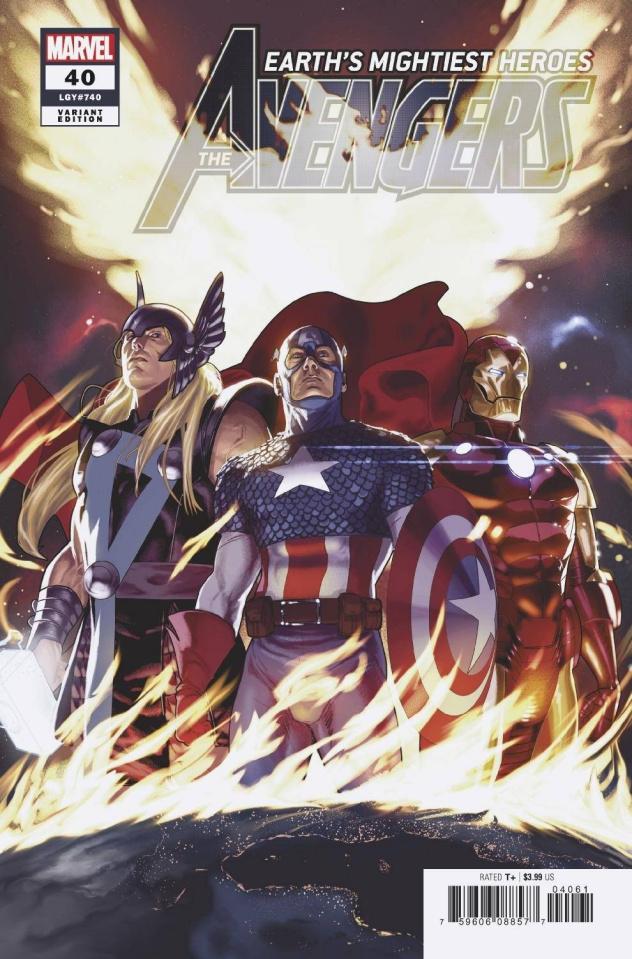 Avengers #40 (Clarke Cover)