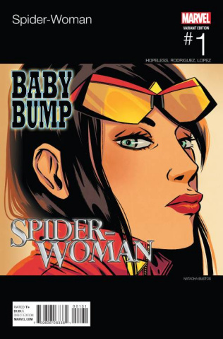 Spider-Woman #1 (Bustos Hip Hop Cover)