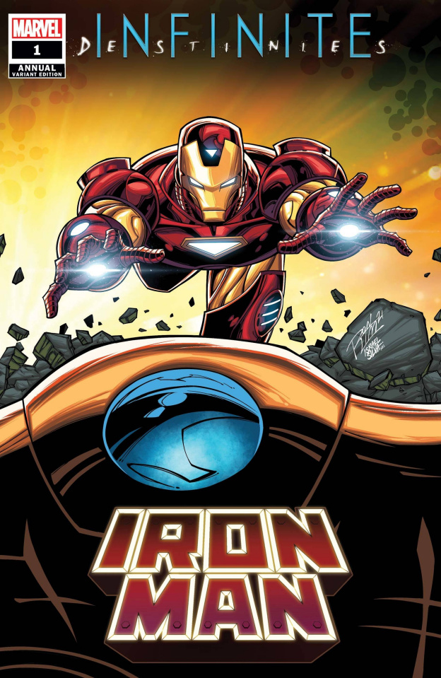 Iron Man Annual #1 (Ron Lim Connecting Cover)