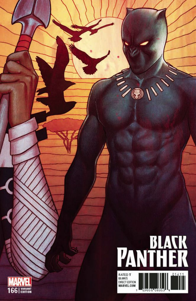 Black Panther #166 (Frison Connecting Cover)