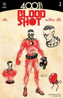 4001 AD: Bloodshot #1 (10 Copy Character Design Cover)