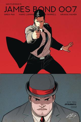 James Bond: 007 #2 (Henry Cover)