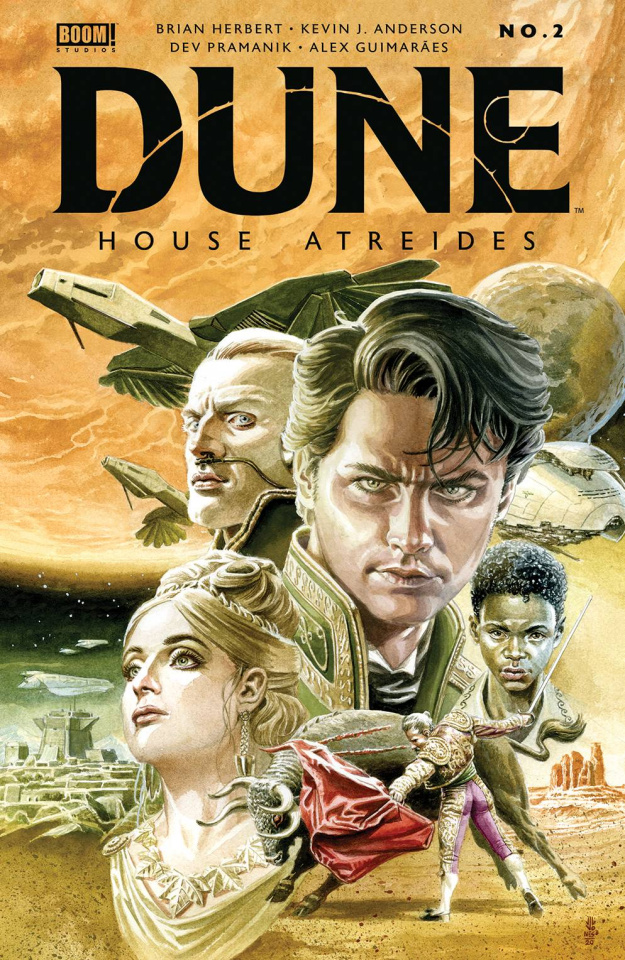 Dune: House Atreides #2 (Jones Cover)