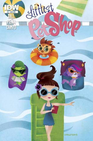 Littlest Pet Shop #2 (Subscription Cover)