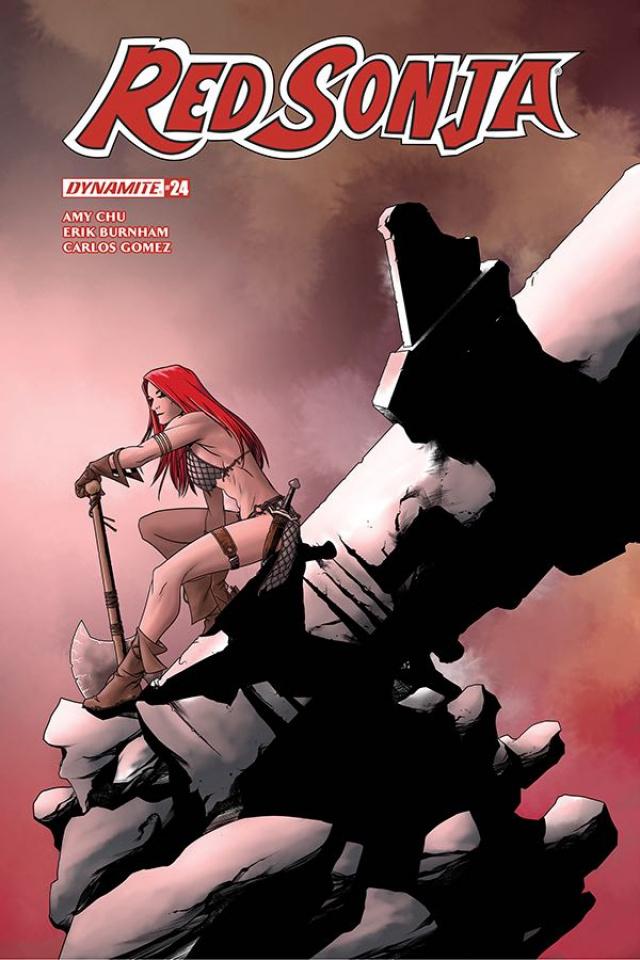 Red Sonja #25 (McKone Cover)