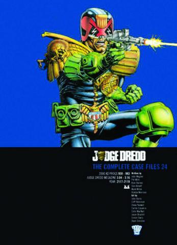 Judge Dredd: The Complete Case Files Vol. 24