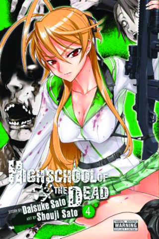 High School of the Dead Vol. 4