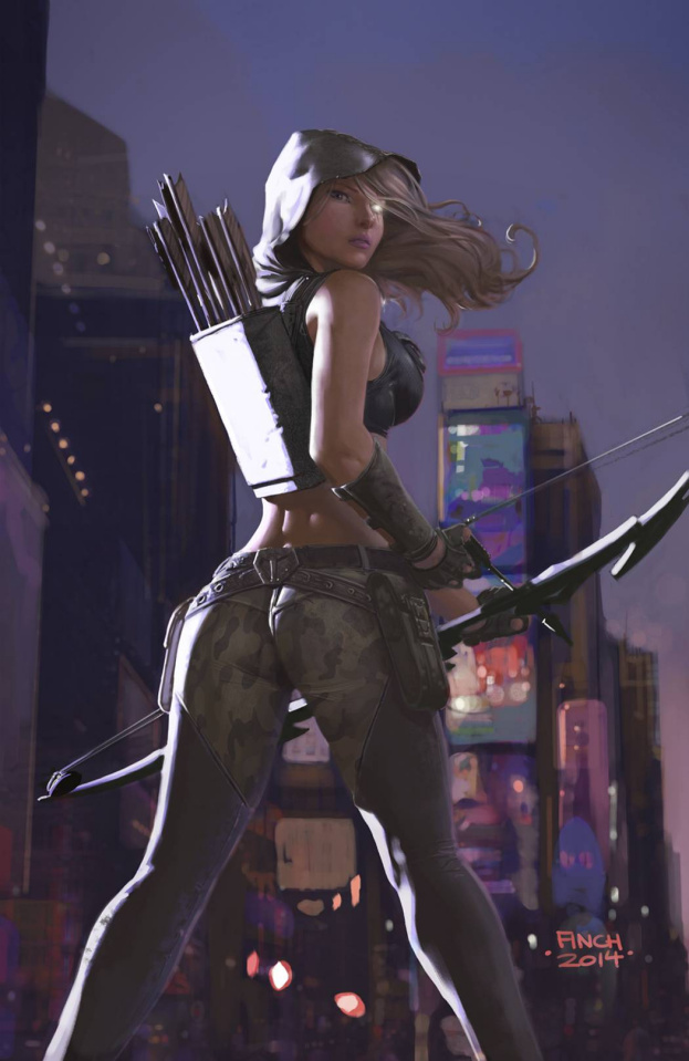 Grimm Fairy Tales: Robyn Hood #1 (Finch Cover)