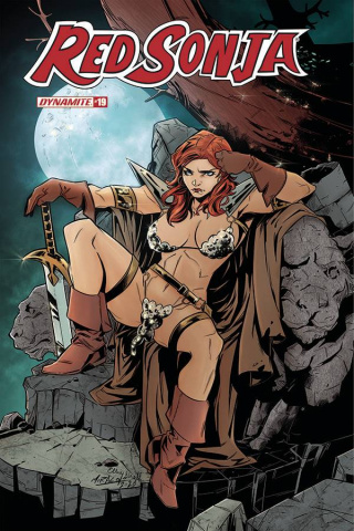 Red Sonja #19 (Miracolo Cover)