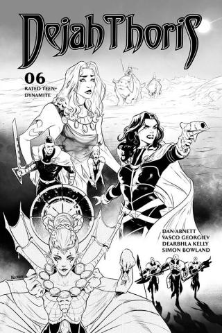Dejah Thoris #6 (25 Copy Georgiev B&W Cover)