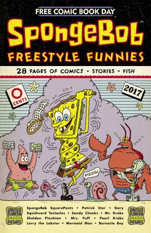 Spongebob Comics Freestyle Funnies