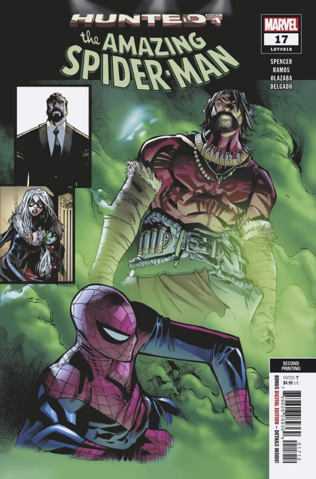 The Amazing Spider-Man #17 (Ramos 2nd Printing)