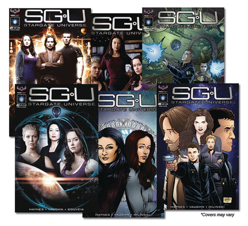 Stargate Universe #1-6 (Reader Set)