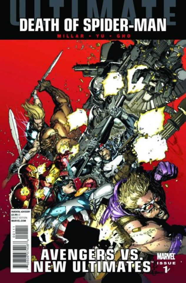 Ultimate Avengers vs. New Ultimates #1 (2nd Printing)