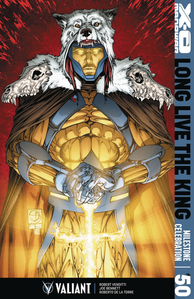X-O Manowar #50 (Davis Cover)