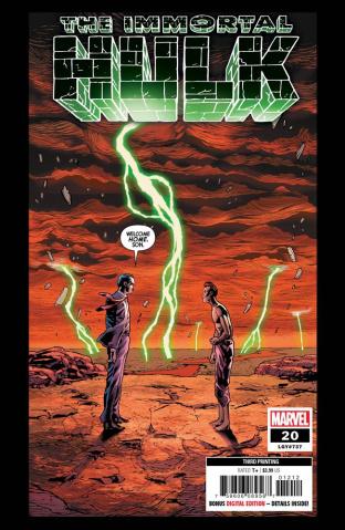 The Immortal Hulk #20 (Bennett 3rd Printing)