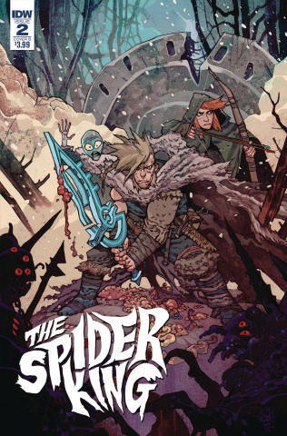 Spider King #2 (Rebelka Cover)