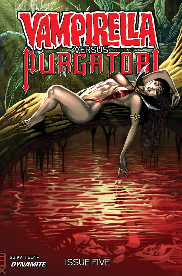 Vampirella vs. Purgatori #5 (Fox Cover)