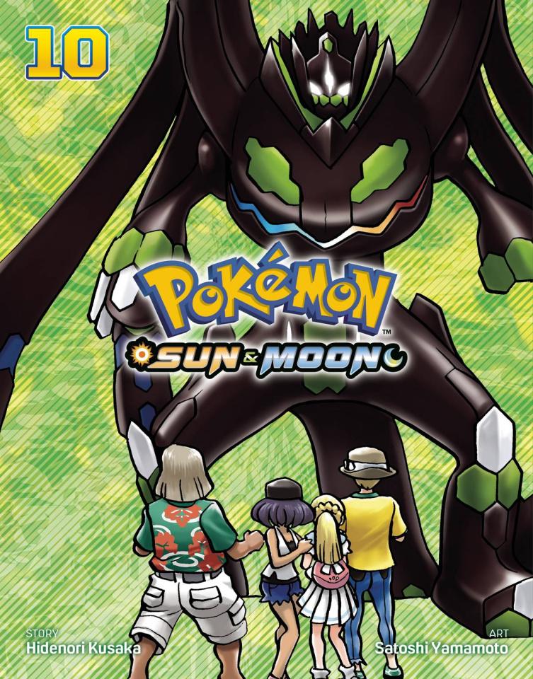 Pokémon: Sun & Moon Vol. 10