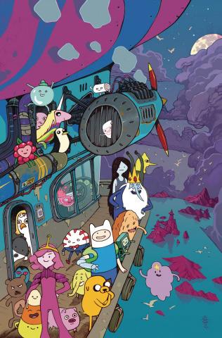 Adventure Time, Season 11 #2 (10 Copy Rebelka Cover)