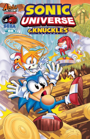 Sonic Universe #88 (Diana Skelly Cover)