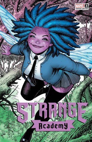 Strange Academy #3 (Adams Character Spotlight Cover)