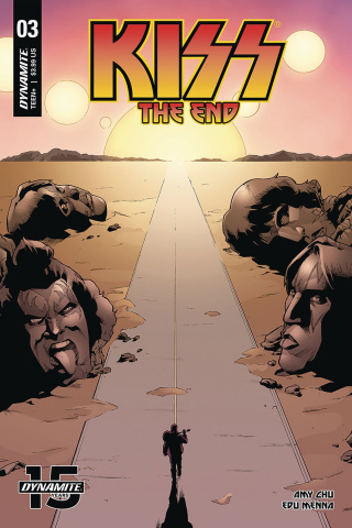 KISS: The End #3 (Coleman Cover)
