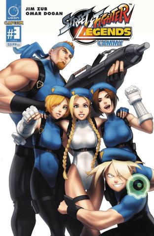 Street Fighter Legends: Cammy #3 (Dogan Cover)