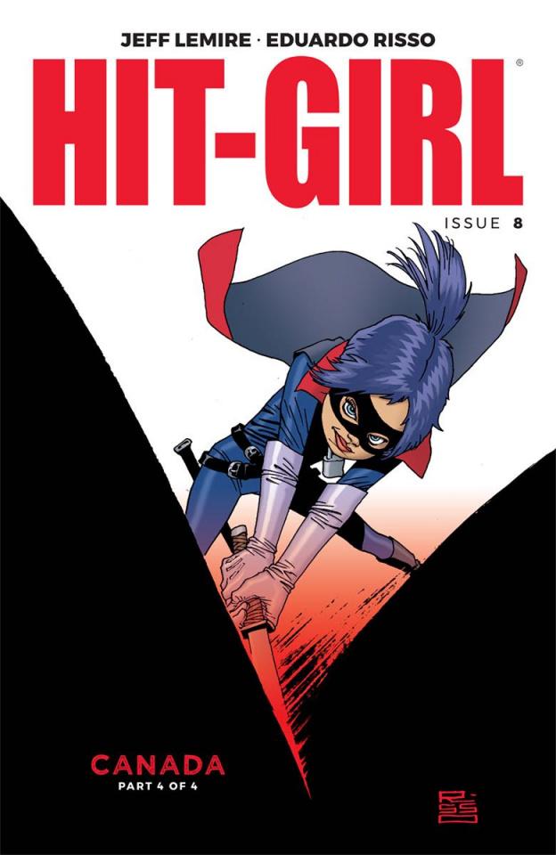 Hit-Girl #8 (Risso Cover)