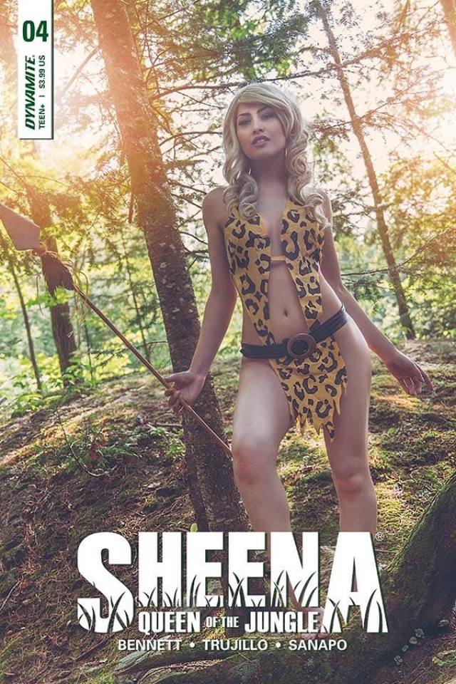 Sheena #4 (Cosplay Cover)