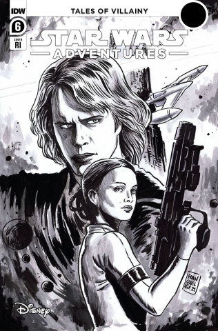 Star Wars Adventures #6 (10 Copy Francavilla Cover)