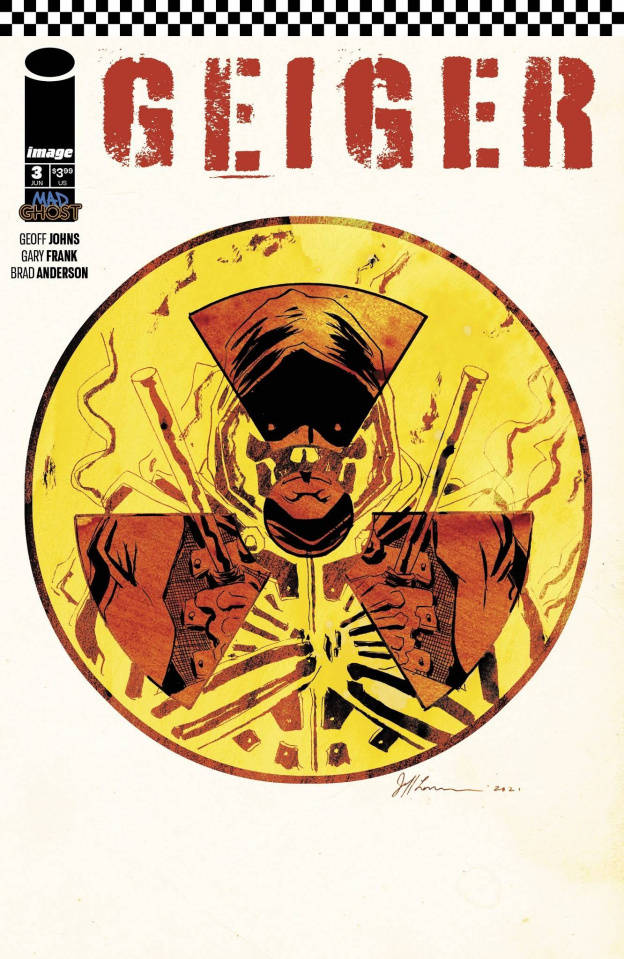 Geiger #3 (Lemire Cover)