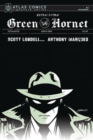 Green Hornet #1 (Marques Signed Atlas Edition)
