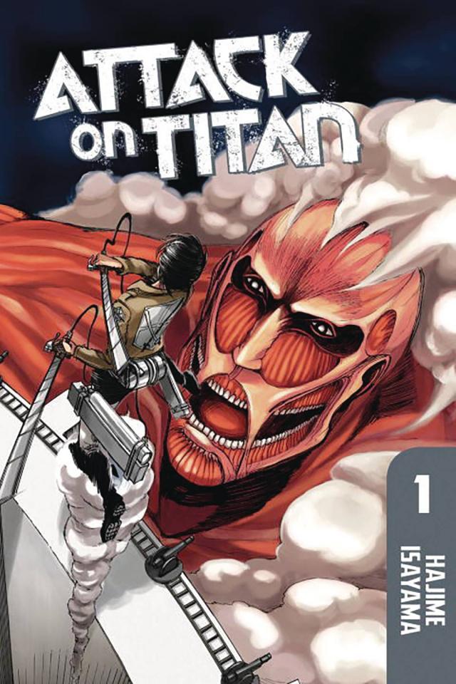 Attack on Titan Vol. 1 (Omnibus Vols. 1-3)