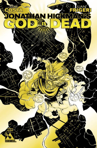 God Is Dead #30 (Gilded Retailer Cover)