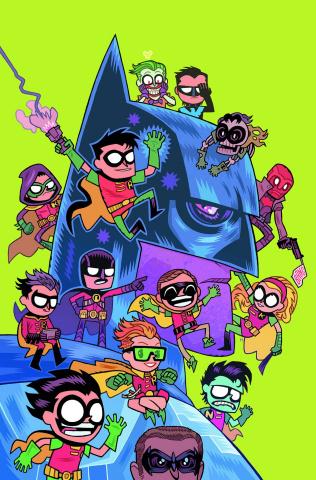 Detective Comics #42 (Teen Titans Go! Cover)