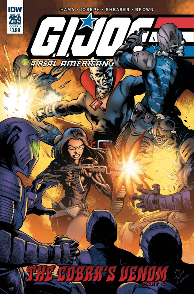 G.I. Joe: A Real American Hero #259 (Joseph Cover)