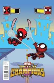 Contest of Champions #1 (Young Cover)