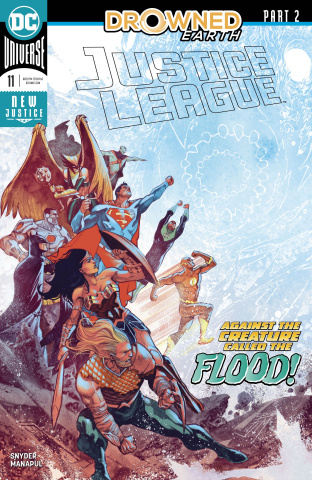 Justice League #11: Drowned Earth