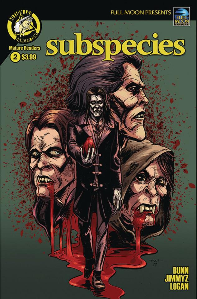 Subspecies #2 (Logan Cover)