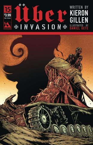Über: Invasion #15 (War Crimes Cover)