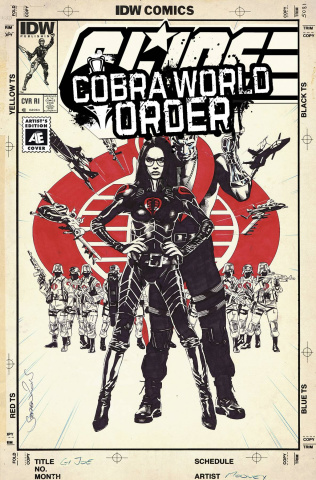 G.I. Joe: Cobra World Order Prelude (10 Copy Cover)