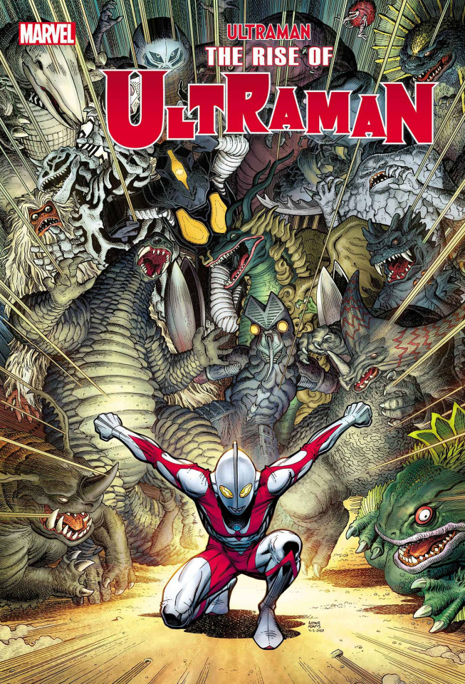 The Rise of Ultraman #2 (Arthur Adams Cover)