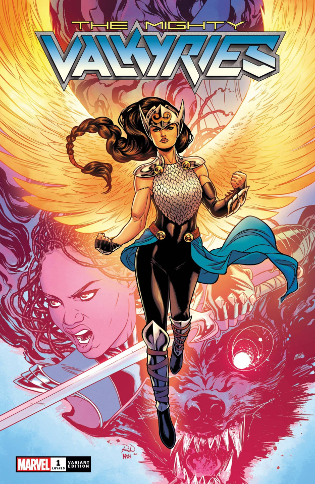 The Mighty Valkyries #1 (Dauterman Cover)