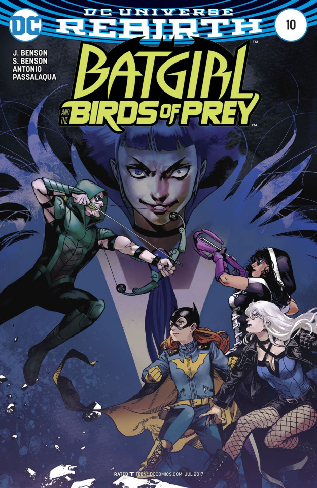 Batgirl and The Birds of Prey #10 (Variant Cover)