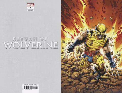 Return of Wolverine #1 (McNiven Original Wolverine Virgin Cover)