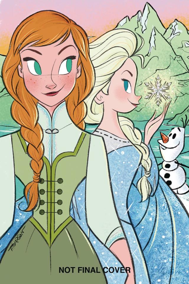 Frozen: Breaking Boundaries #3 (Thompson Cover)