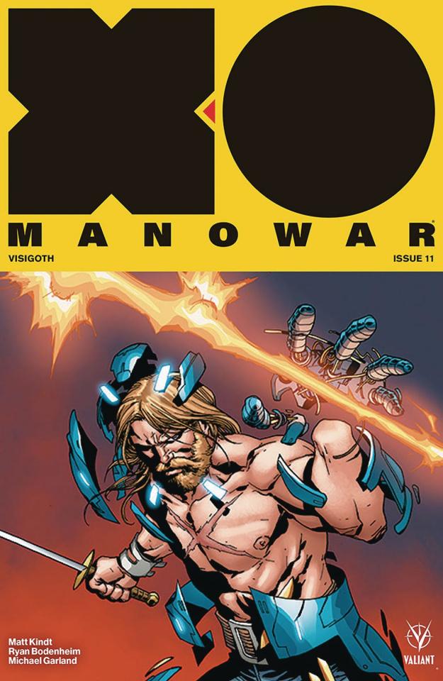 X-O Manowar #11 (Camuncoli Cover)