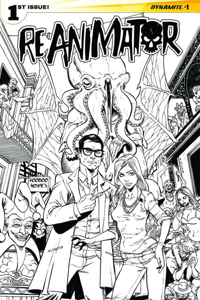 Reanimator #1 (10 Copy Seeley B&W Cover)