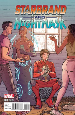 Starbrand and Nightmask #3 (Villalobos Cover)